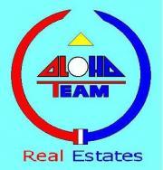 Logo ALOHA Team, obch.zn.