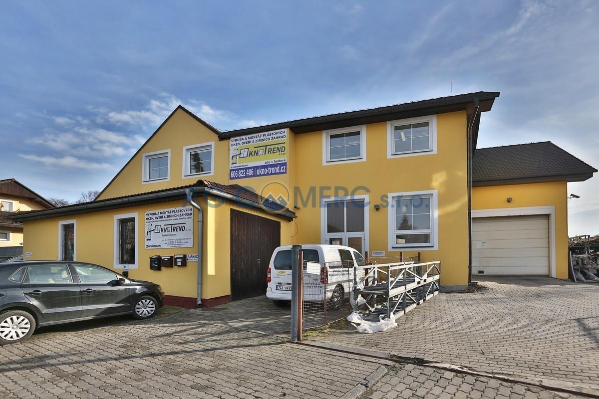 Prodej výrobního areálu 823 m2, pozemek 2035 m2, České Budějovice